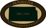 Kansas Established 1861